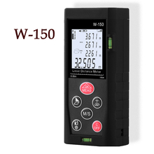 Laser range finder 150 meters electronic distance / area volume digital laser handheld