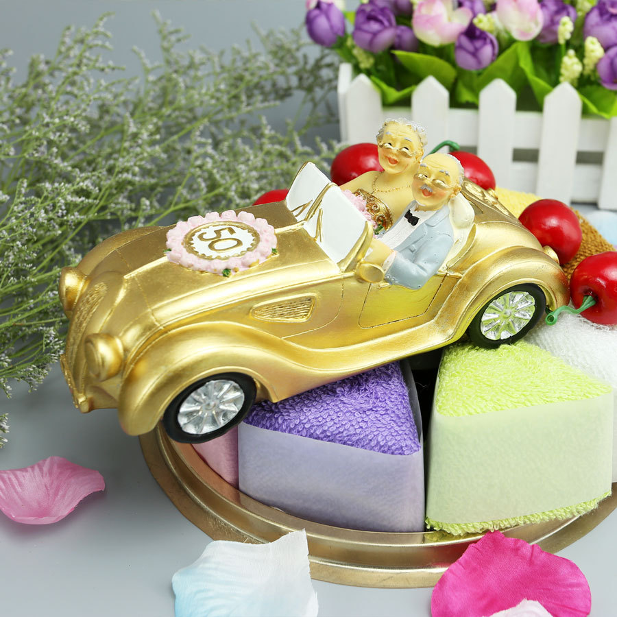50th Anniversary Cupcake Decorations Aliexpresscom Buy Wholesale 6pcs Bride And Groom Cake Topper