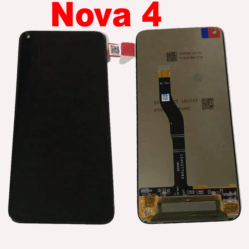 Original Best LCD Display Touch Screen Digitizer Assembly Sensor For Huawei Nova 4 Nova4 VCE AL00