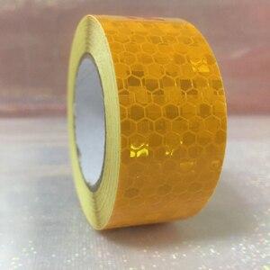 Image 2 - Fita adesiva reflexiva para marca de segurança, 25mm x 5m, automóveis, fita de advertência, automóveis, motocicleta, reflexiva material