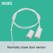 Security home Door open alarm wired magnetic door sensor reed switch position holder NC signal window magnet detector smarsecur home alarm system metal rolling gate window door magnetic contacts alarm reed switch mc 56