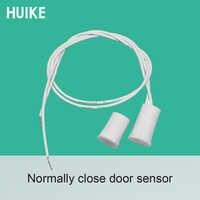 Sicherheit home Tür öffnen alarm wired magnetische tür sensor reed schalter position halter NC signal fenster magnet detektor