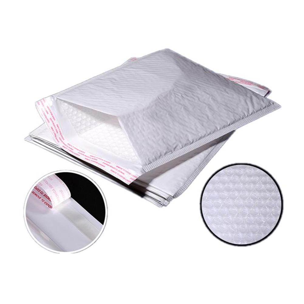 10 Pcs Lot White Pearl Bubble Envelope Bag Wrap Pad Transport Envelope With Bubble Bag Business Supplies 120 180mm in Paper Envelopes from Office School Supplies
