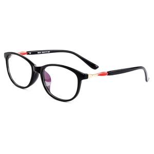 Image 2 - Gmei optyczne Trendy Ultralight TR90 owalne pełne obręczy kobiet oprawki do okularów korekcyjnych dla kobiet krótkowzroczność okulary prezbiopia M041