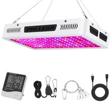 Phlizon 1500W grow led light for plants 150pcs LED Hydro Full Spectrum Grow Light Panel Flower Bloom Veg Plant dual chip 10W