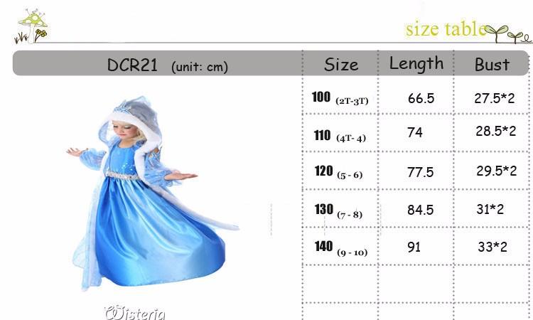 DCR21 SIZE