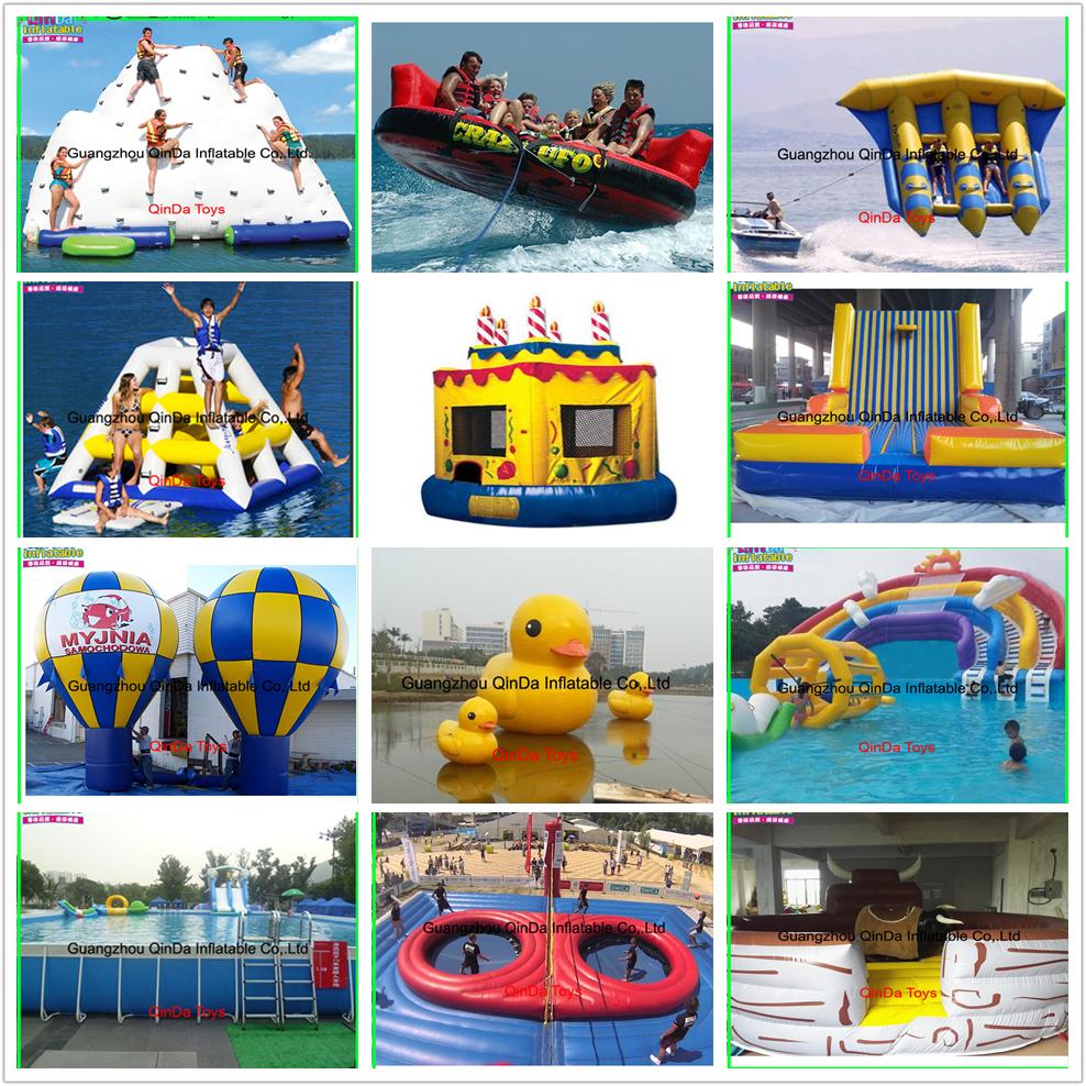 acuático personalizado Inflatable Spencerslimo.com 24