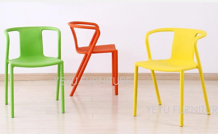 Möbel Stuhl Moderne Kunststoff US128 Loft Bunte Modernen 0Minimalistischen Caft Design Esszimmerstuhl in Haus Modernen outdoor stapelbaren Stuhl IyYvfb76g
