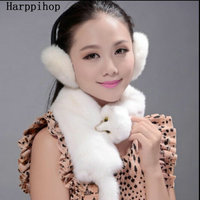 100% real fur scarf warm winter fashion female mink collar luxurious mink scarf
