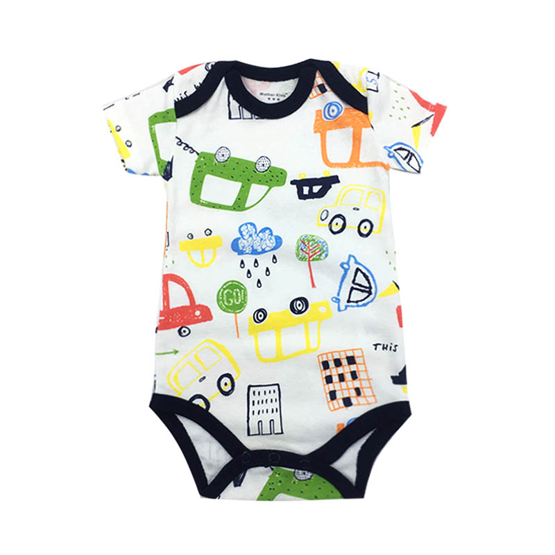 2019 summer Baby Bodysuits One Pieces infant clothing Bodysuit cotton newborn baby clothes Overall Jumpsuits Baby in Bodysuits from Mother Kids