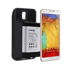 Perfine 9600mAh Extended Battery For Samsung Galaxy Note 3 N9000 Cell Phone NFC Battery+ Full Edge Protective TPU Case Cover cool protective plastic tpu case for samsung galaxy note 3 n9000 white black