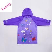 Hooded Women Child Children Raincoat Kids Waterproof Rain Coat Rainwear Poncho Regenmantel Kids Raincoat Sets QQG201