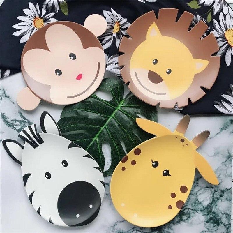 6pcs / set kreatif yang popular kreatif melamine pinggan mangkuk - Memakan kanak-kanak - Foto 2