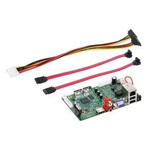 Image 3 - GADINAN H.265/H.264 NVR плата 25CH * 5MP 32CH * 1080P сетевой цифровой видеорегистратор 2 SATA Max 8T ONVIF P2P CMS XMeye с 12V 4A
