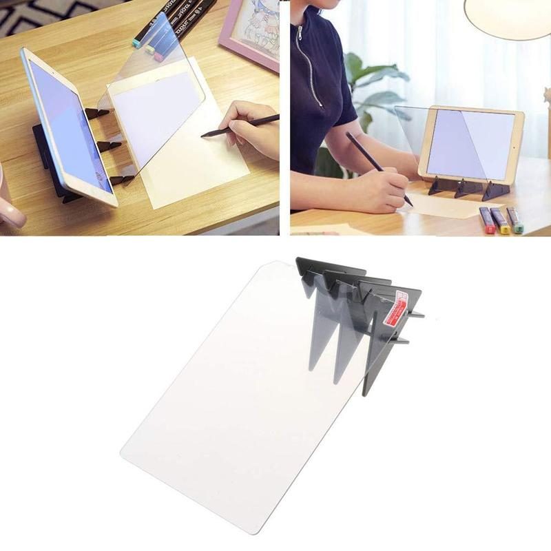 Kid Drawing Painting Tool Panel Tracing Board Copy Pad Crafts Portable Zero-based Projection Comic Mould Anime Sketch Art Tool