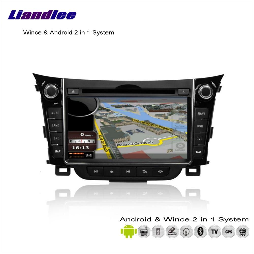 liandlee for hyundai i30 elantra gt 2012 2013 car radio. Black Bedroom Furniture Sets. Home Design Ideas