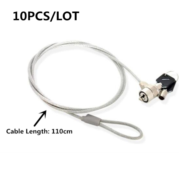 New Notebook Laptop Computer Lock Security Security Lock Cable Chain With Key