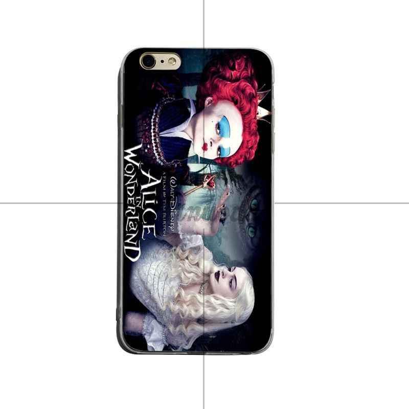 Yinuoda Красная Королева Алиса в стране чудес печать рисунок Защитная крышка телефона чехол для iPhone 6 6 plus 7 8 plus X XS XR XSMax