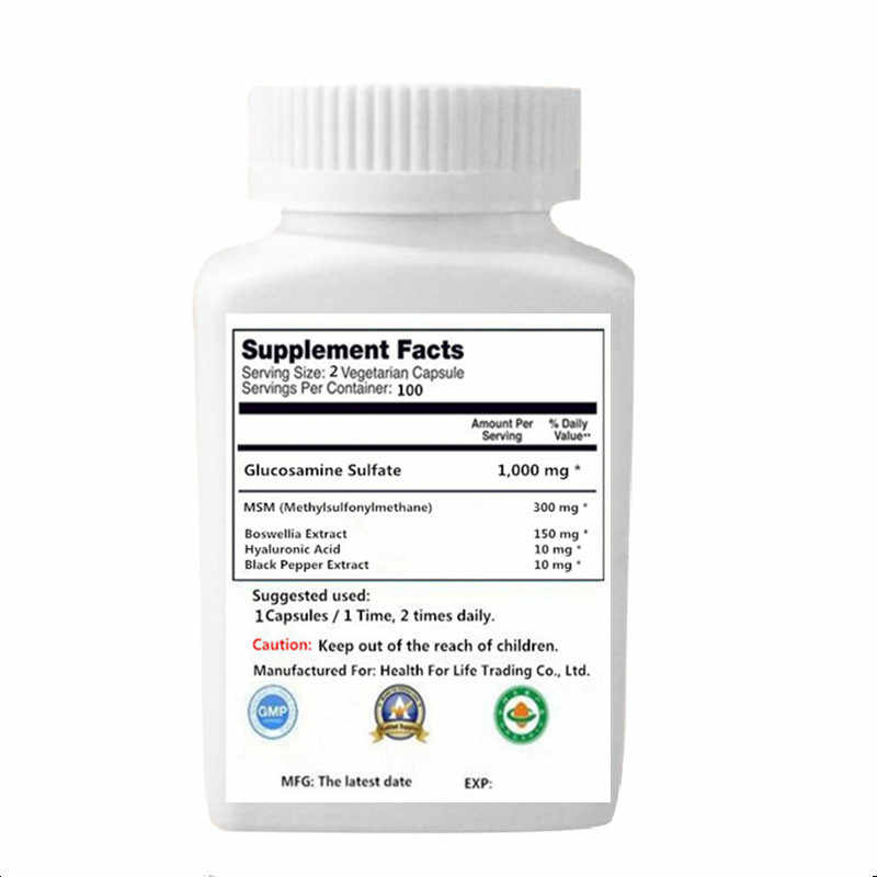 Detail Feedback Questions about Glucosamine + Hyaluronic Acid + MSM