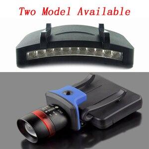 Image 5 - Litwod Z20 超高輝度 11 ledキャップライトヘッドライトヘッドランプヘッド懐中電灯ヘッドキャップ帽子に光クリップライト釣りヘッドランプ