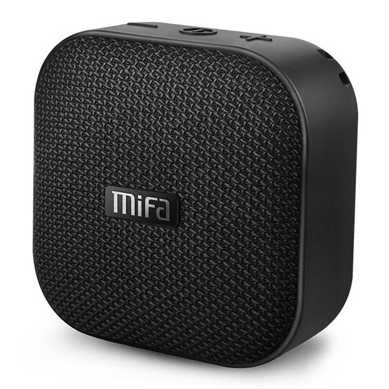 Mifa A1 Беспроводной Портативный Bluetooth Динамик Водонепроницаемый мини стерео колонки музыку открытый Handfree громкий Динамик Suppot TF/SD карты