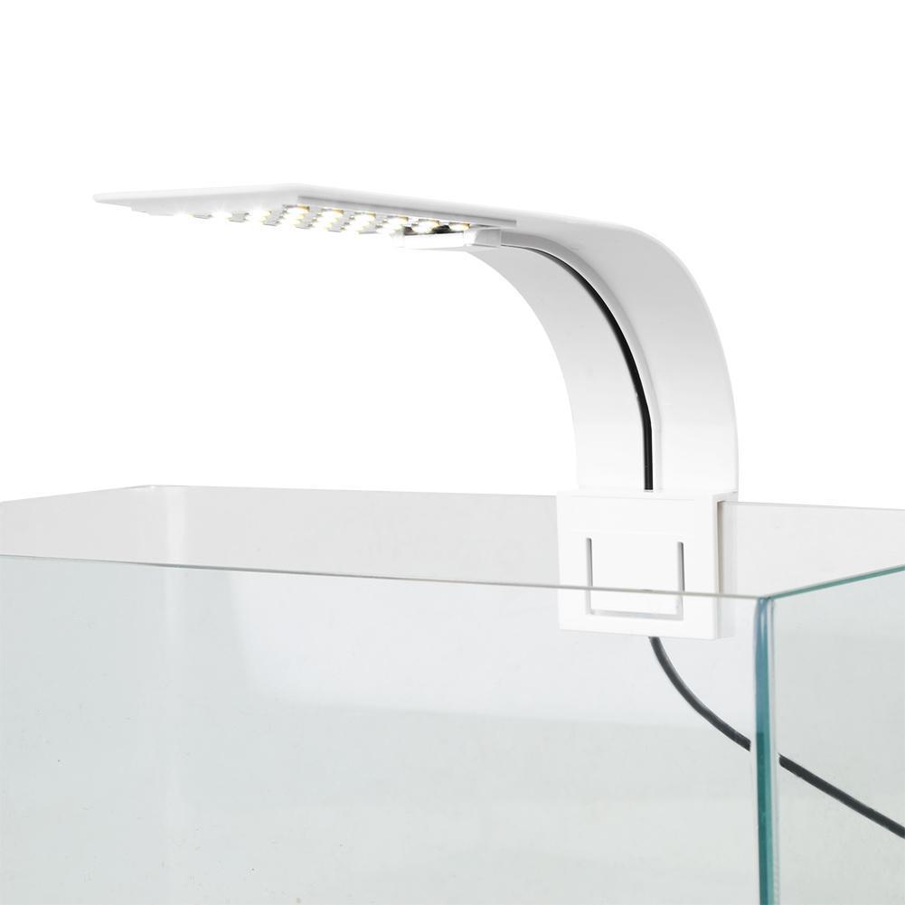 5W/10W LED Aquarium Light Lighting plants Grow Light Energy-Saving Aquatic Plant Lighting Clip-on Lamp For Fish Tank EU Plug Hot