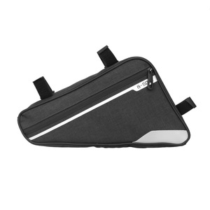 Велосипедная сумка с треугольным лучом, водонепроницаемая верхняя труба, сумка-седло, сумка для горной дороги, езды на велосипеде, Большая в...