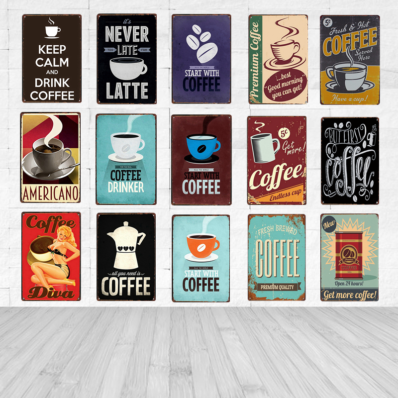 Poster Bars Kitchen Pub Cafe Wall Decor