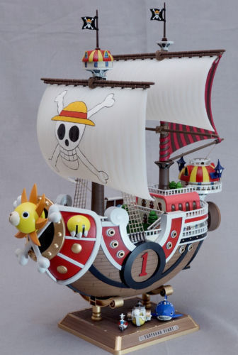 ФОТО NEW Banpresto One Piece The Grandline Ships Boat Thousand Sunny DX 1 Figure Toy