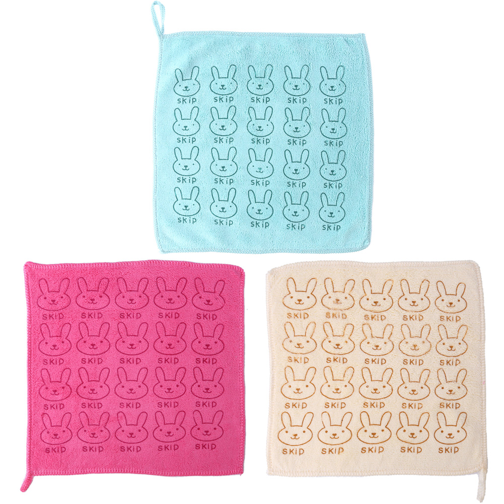 Cute Baby Towel Face Microfiber Absorbent Drying Bath Towel Cartoon Rabbit Child Washcloth Swimwear Cotton Baby Kids Towels
