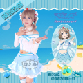 Love Live! Sunshine!! Aqours Watanabe You Cosplay costume top+skirt+accessory gift grown