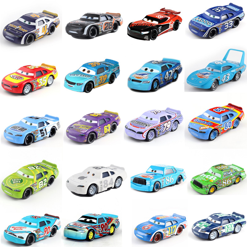 Cars Disney Pixar Cars 2  3 Number car Toys  LIGHTNING McQUEEN High Quality Cars Toys Cartoon Models kids toys Children's gift
