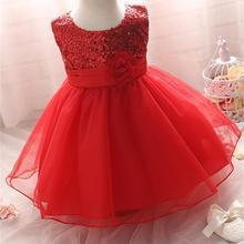 Baby Dress for Girls Dresses 2018 Baby Clothing Baptism 1st Birthday Dresses For Girls Kids vestido infantil robe bebes fille