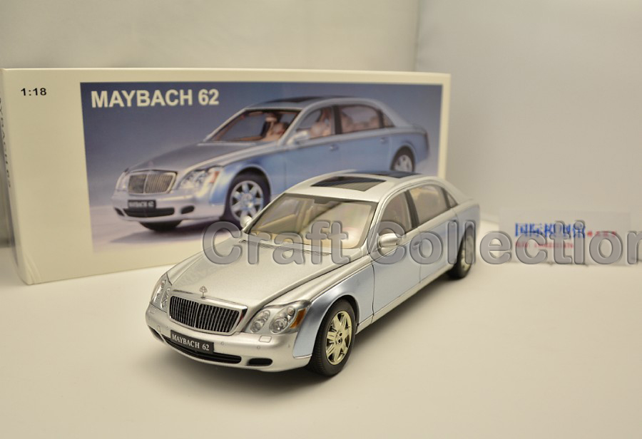 1 18 AutoArt AA Maybach 62 Diecast Model Car Luxury Gifts Collection Mini Model Car