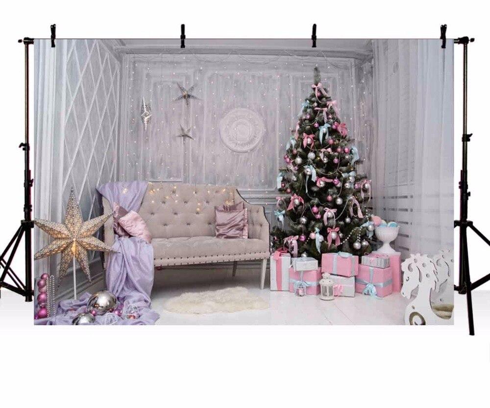 Рождество фон винил фотографии Задний план Рождество дерево Блеск Star Light Дети фонов для Аксессуары для фотостудий zr-195