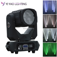 4x25W Super LED Moving Head Beam Light With Road Case Packing for TV Club
