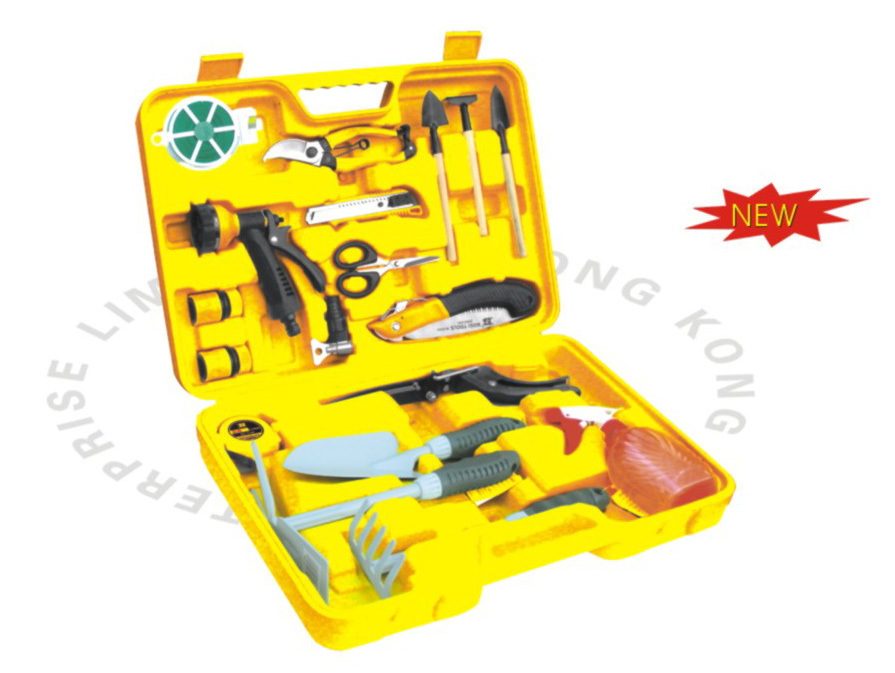 Free shipping bosi 18pc garden tool set china top ten for Best garden tools brand
