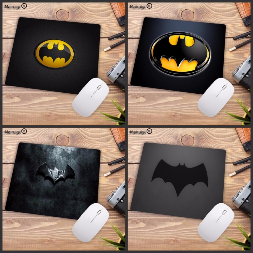 Mairuige Batman Logo Gaming Mouse Pad Anti-slip Natural Rubber Mouse Mat Keyboard Pad Desk Mat For Laptop Computer Gamer Mousepa