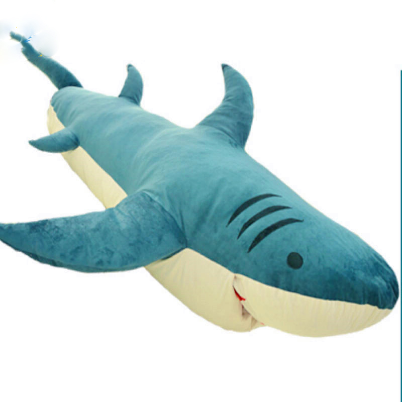 Huge Giant Shark Sleeping Bag Beanbag Sofa Bed Carpet Tatami Plush Stuffed 2 Colors In Animals From Toys Hobbies On Aliexpress