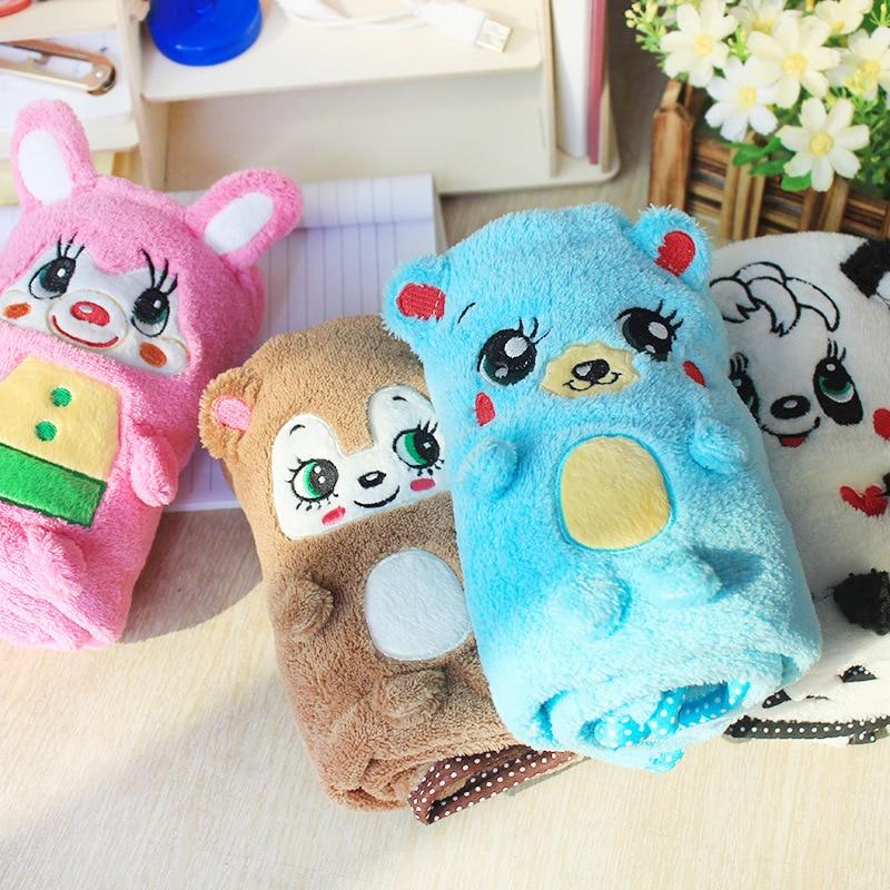 Winter Warm Soft cartoon print fleece dog Blanket cute small Pet Cat Dog Air Conditioning Mat Blanket Bed quilt mat cover
