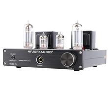 FX-AUDIO TUBE-P1 6J1 6P1 MCU Single Ended Clássico UM Amplificador De Tubo de Alimentação de Desktop de ALTA FIDELIDADE Headphone Amplifier RCA/PHONO Entrada