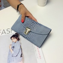 free shipping new fashion brand hot sale women's long wallet ladies purse female money bag 100% real leather in-kind shooting