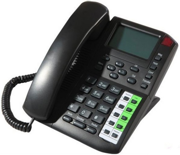 Fast shipment good quality VOIP SIP Phone EP-8201 with Message waiting indication (MWI) 4 channels IP Phone HOT SALES