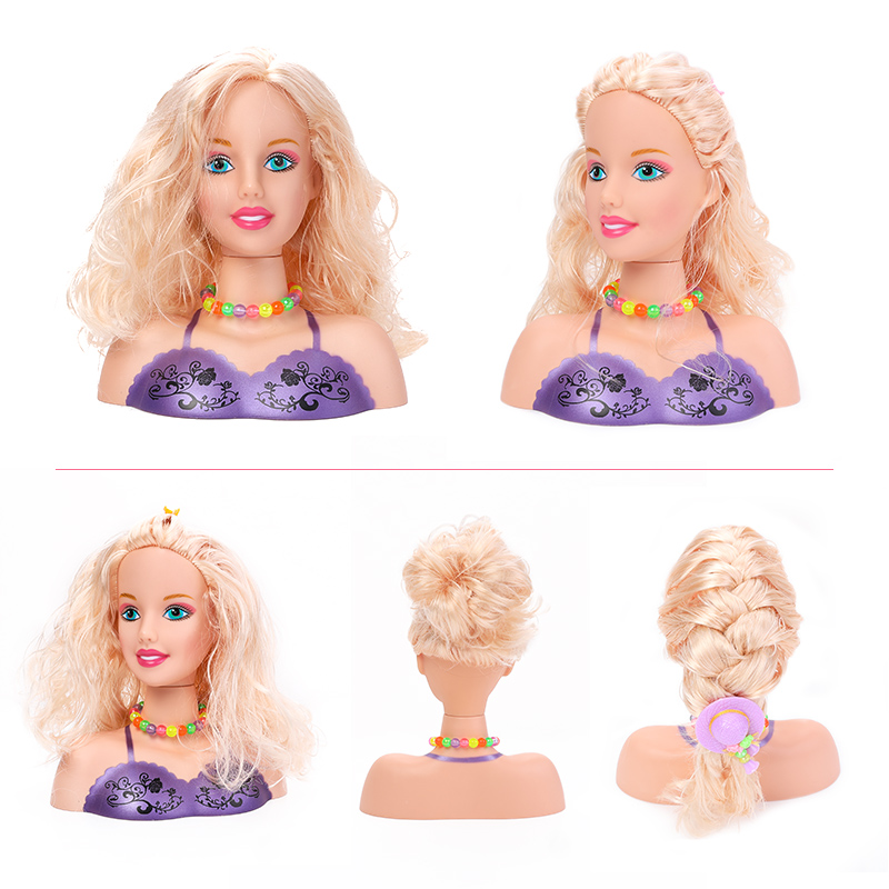 DIY Beauty And Fashion Hairstyle Kit With Doll Model Kids