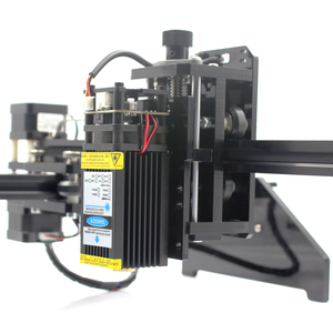 Image 5 - Oxlasers עוצמה 450nm 15W 15000mW כחול לייזר מודול DIY לייזר ראש עבור CNC לייזר חריטת מכונת לייזר חותך עם PWM