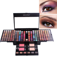 2018 Big Sale Eye Makeup 180 Colors Matte Shimmer Eyeshadow Palette Full Color Eye Shadow