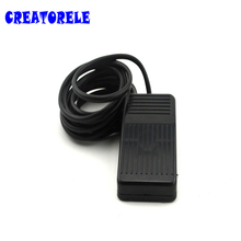 Foot switch the length of line 3 meters high frequency 50-60Hz factory direct USB plastic new black wired heavy duty medical