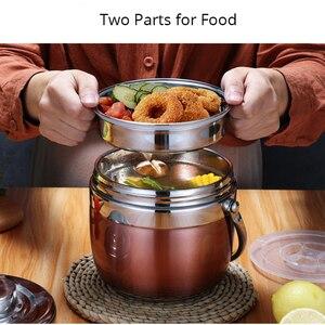 Image 2 - Unibird 2020 חדש 1.5L נירוסטה מזון תרמוס 6 12 שעות ואקום קופסא ארוחת הצהריים Thermo מיכל מרק צנצנת מבודד תרמוסים