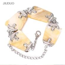 Speciella skalstycken Armband Mode Abalone Shell armband Creativ Silverplätering smycken till kvinnor