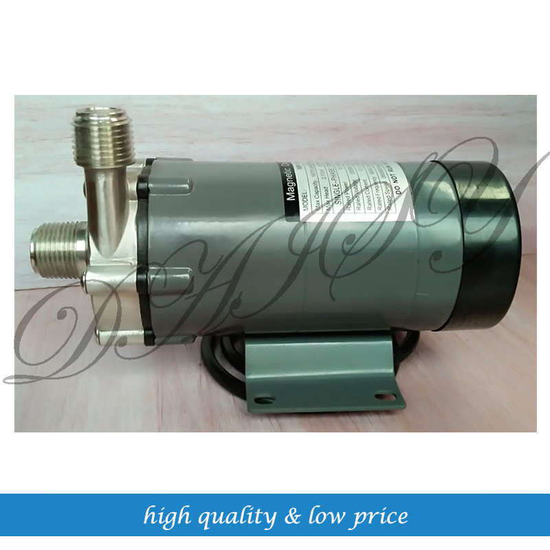 Homebrew Stainless Steel  Magnetic Drive Pump 16cq 8 corrosion resistant pump horizontal stainless steel chemical transfer magnetic drive pump